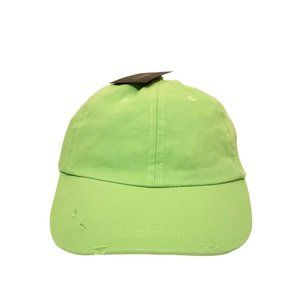 Forever 21 Distressed Green Hat